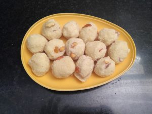 how to prepare rava laddu in telugu
